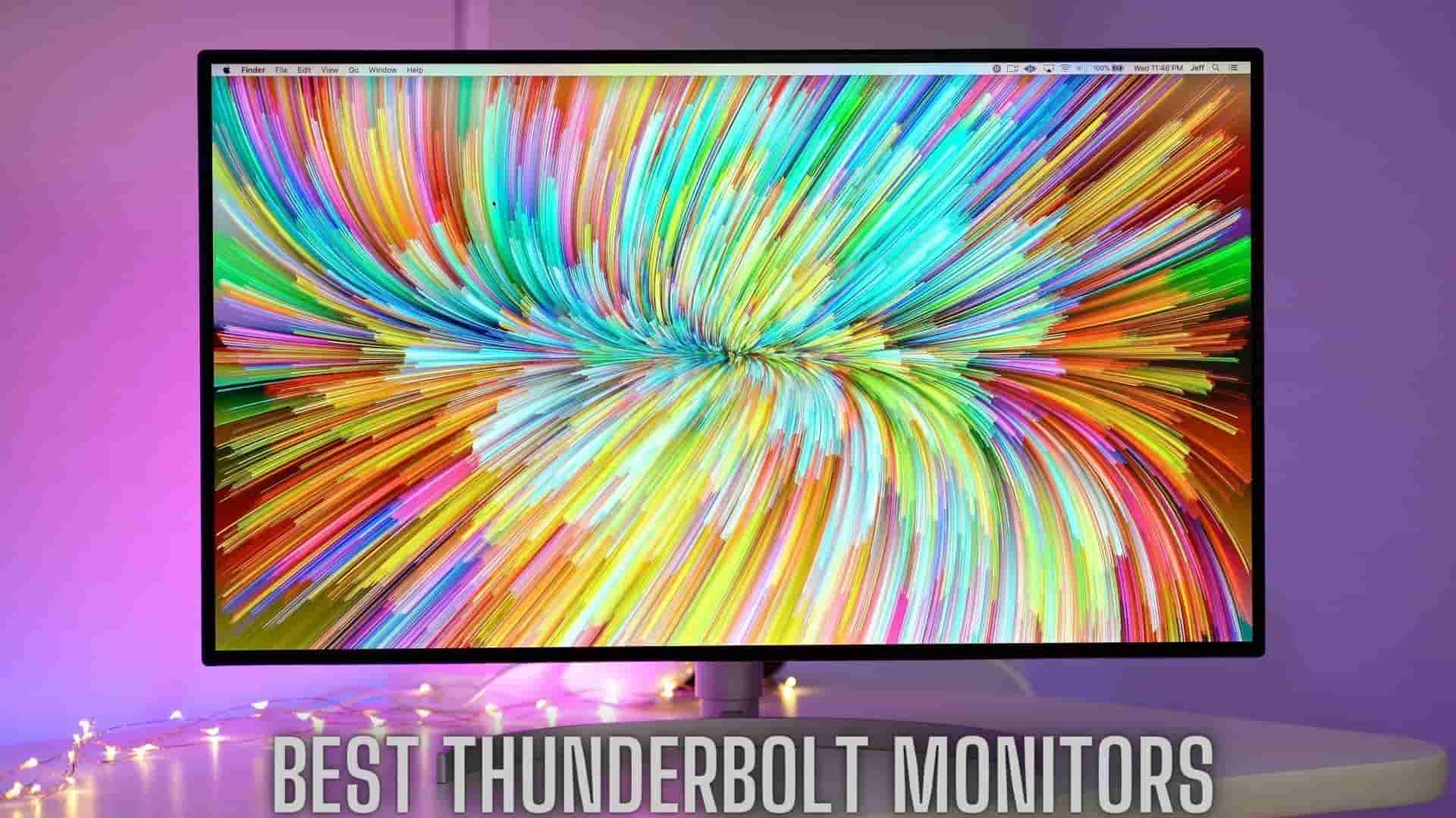 🖥️Best Thunderbolt Monitors & Displays [List & Reviews] 2021